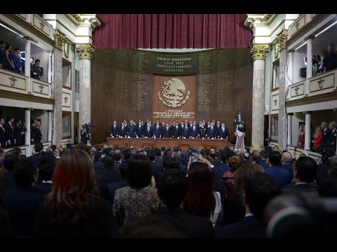 Embedded thumbnail for 100 Aniversario de la Promulgación de la Constitución Política de los Estados Unidos Mexicanos