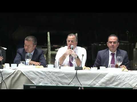 Embedded thumbnail for El secretario Meade se reunió con diputados del PRI