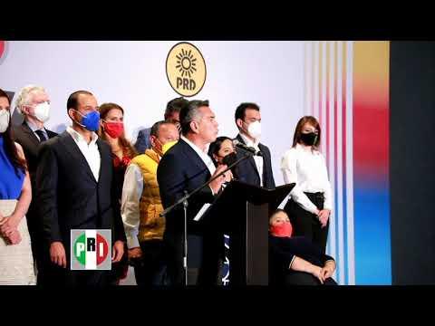 Embedded thumbnail for PRI trabajará desde la coalición en el Congreso de México, afirma Alejandro Moreno