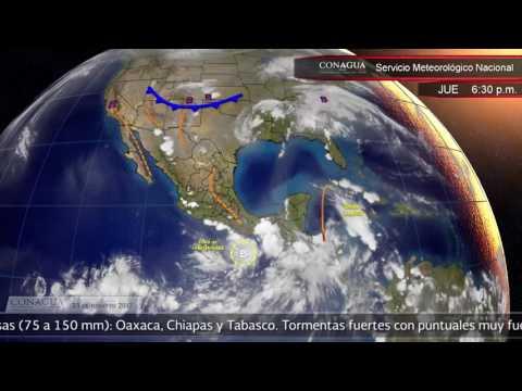 Embedded thumbnail for Pronóstico del Tiempo 23 de junio de 2017