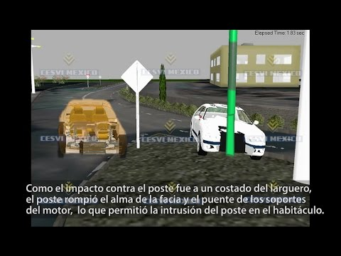 Embedded thumbnail for   Reconstrucción del accidente de tránsito de Reforma