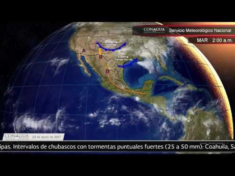 Embedded thumbnail for Pronóstico del Tiempo 23 de mayo de 2017