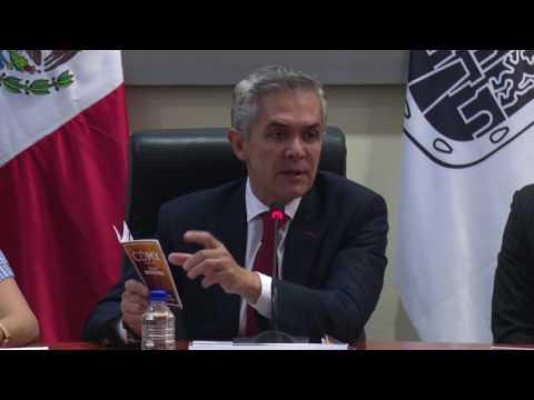 """Embedded thumbnail for PRESENTACIÓN DE LA AGENDA SERVICIOS PARA JÓVENES BINACIONALES """"CDMX TE DA LA BIENVENIDA"""""""