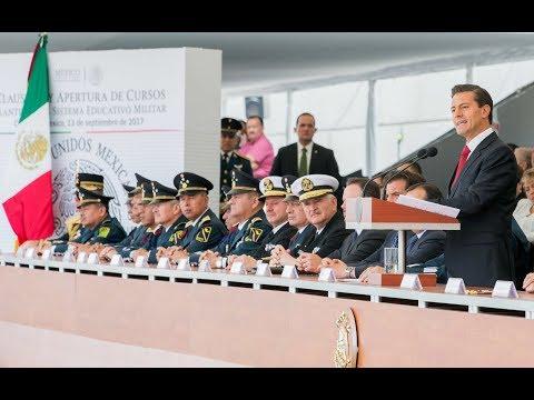 Embedded thumbnail for Clausura y Apertura de Cursos de los Planteles del Sistema Educativo Militar