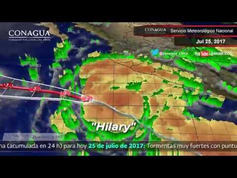 Embedded thumbnail for Pronóstico del Tiempo 25 de julio de 2017