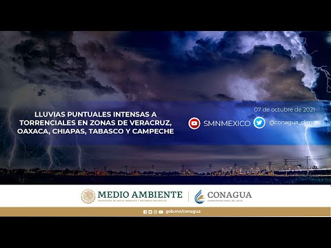 Embedded thumbnail for Pronóstico del Tiempo 7 de octubre de 2021