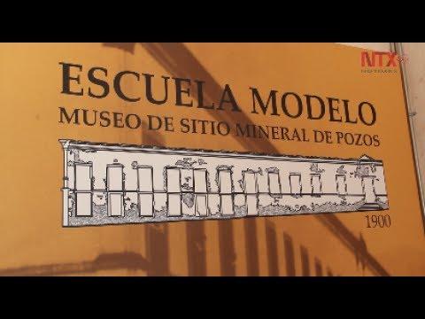 Embedded thumbnail for Escuela Modelo, centro de arte en Mineral de Pozos