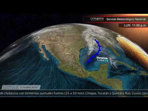 Embedded thumbnail for Pronóstico del Tiempo 21 de febrero de 2017