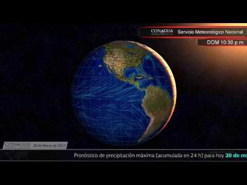 Embedded thumbnail for Pronóstico del Tiempo 20 de marzo de 2017