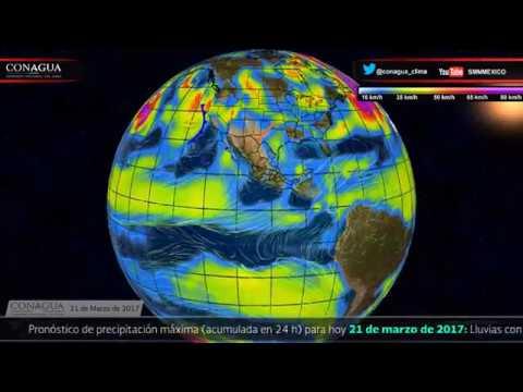 Embedded thumbnail for Pronóstico del Tiempo 21 de marzo de 2017