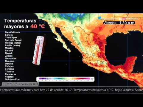 Embedded thumbnail for Pronóstico del Tiempo 27 de abril de 2017