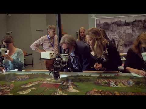Embedded thumbnail for Una investigación lo confirma: los hermanos van Eyck colaboraron en el altar de Gante