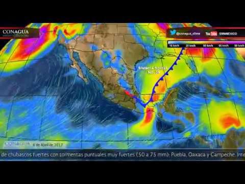Embedded thumbnail for Pronóstico del Tiempo 6 de abril de 2017
