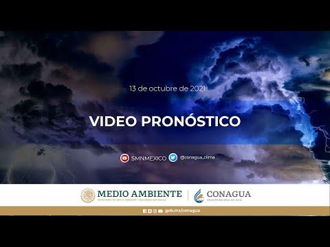 Embedded thumbnail for Pronóstico del Tiempo 13 de octubre de 2021