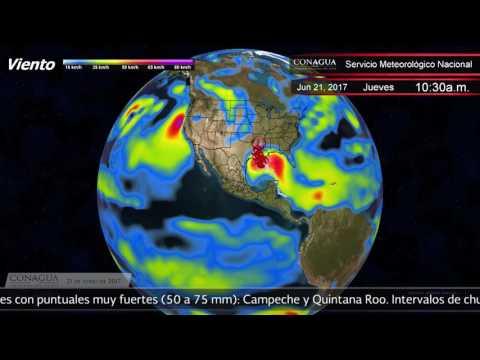 Embedded thumbnail for Pronóstico del Tiempo 21 de junio de 2017