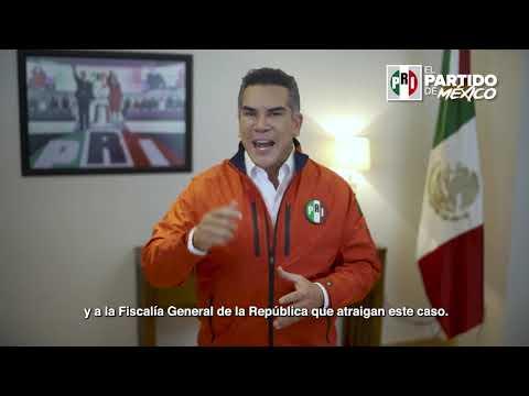 Embedded thumbnail for Condena Alejandro Moreno ataque de comando armado en sede del PRI